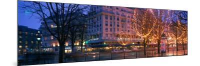 Evening, Paris, France--Mounted Photographic Print