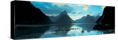 South Island, Milford Sound, New Zealand--Stretched Canvas Print