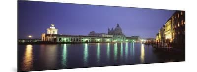 Grand Canal, Venice, Italy--Mounted Photographic Print