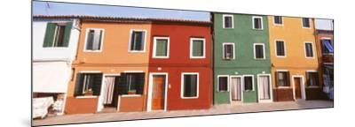 Burano, Venice, Italy--Mounted Photographic Print