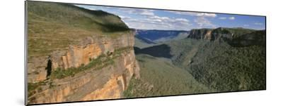 Panoramic View of Valley, Blue Mountains National Park, Australia--Mounted Photographic Print