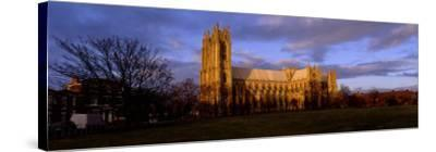 Facade of Cathedral, Beverley Minster, Beverley, Yorkshire, England, United Kingdom--Stretched Canvas Print