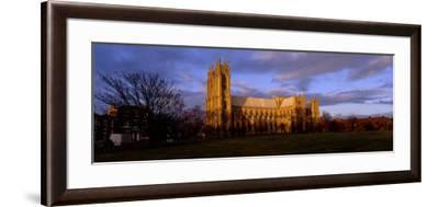 Facade of Cathedral, Beverley Minster, Beverley, Yorkshire, England, United Kingdom--Framed Photographic Print