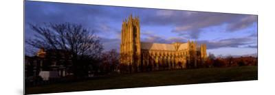 Facade of Cathedral, Beverley Minster, Beverley, Yorkshire, England, United Kingdom--Mounted Photographic Print