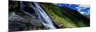 Water Flowing Over Rocks, Sourmilk Gill, Borrowdale, English Lake District, Cumbria, England, UK--Mounted Photographic Print
