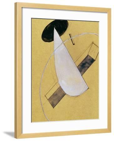 Proun 18, 1919-20-El Lissitzky-Framed Giclee Print