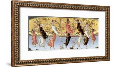 Mystic Nativity-Sandro Botticelli-Framed Giclee Print