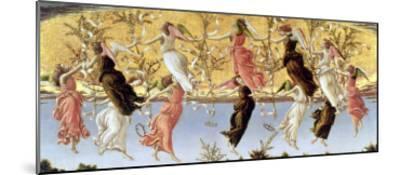 Mystic Nativity-Sandro Botticelli-Mounted Giclee Print