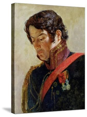Study for a Portrait of Baron Dominique Larrey-Paulin Jean Baptiste Guérin-Stretched Canvas Print