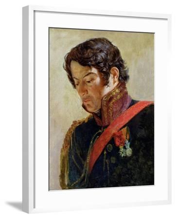 Study for a Portrait of Baron Dominique Larrey-Paulin Jean Baptiste Guérin-Framed Giclee Print