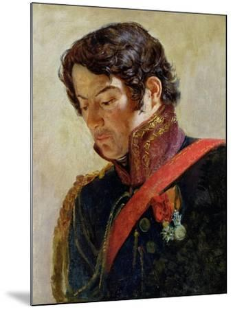 Study for a Portrait of Baron Dominique Larrey-Paulin Jean Baptiste Guérin-Mounted Giclee Print