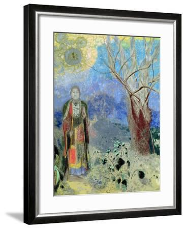 The Buddha, circa 1905-Odilon Redon-Framed Giclee Print
