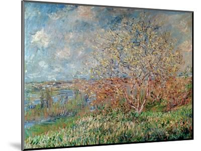 Spring, 1880-82-Claude Monet-Mounted Premium Giclee Print
