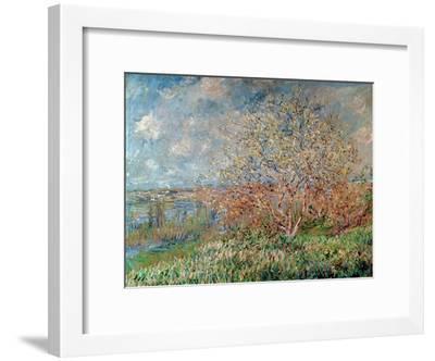 Spring, 1880-82-Claude Monet-Framed Giclee Print