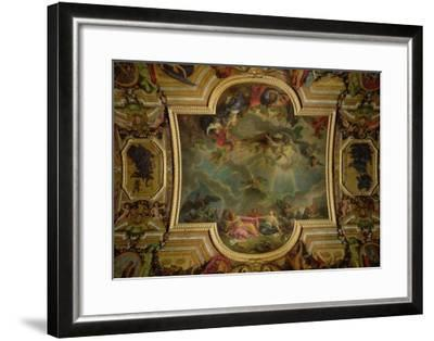 The Capture of the Town and Citadel of Ghent in Six Days in 1678-Charles Le Brun-Framed Giclee Print