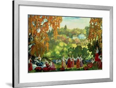 Summery Days in Early Autumn, 1916-Sergei Yurevich Sudeikin-Framed Giclee Print