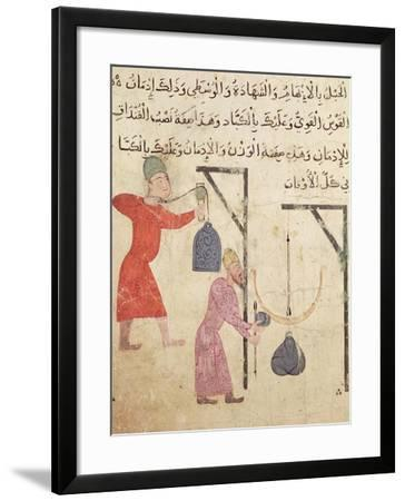 Weighing Merchandise, from Old Cairo--Framed Giclee Print