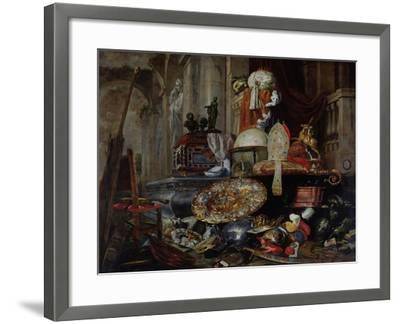 Allegory of the Vanities of the World, 1663-Pieter Or Peter Boel-Framed Giclee Print