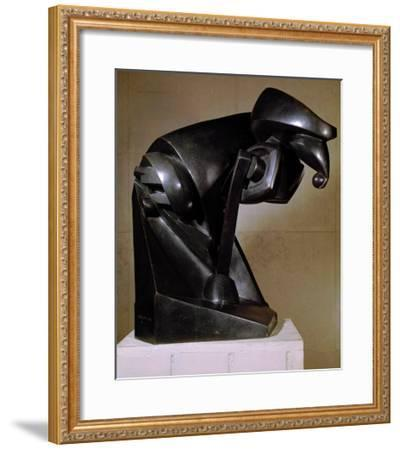 The Horse, 1914-Marcel Duchamp-Framed Giclee Print