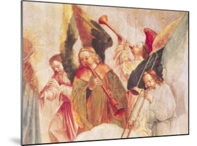 Musical Angels, Detail from the Assumption of the Virgin-Taborda Vlame Frey Carlos-Mounted Giclee Print