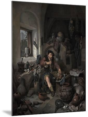 The Alchemist, 1663-Cornelis Bega-Mounted Giclee Print