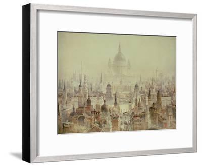 A Tribute to Sir Christopher Wren-Charles Robert Cockerell-Framed Giclee Print