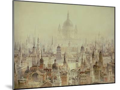 A Tribute to Sir Christopher Wren-Charles Robert Cockerell-Mounted Giclee Print