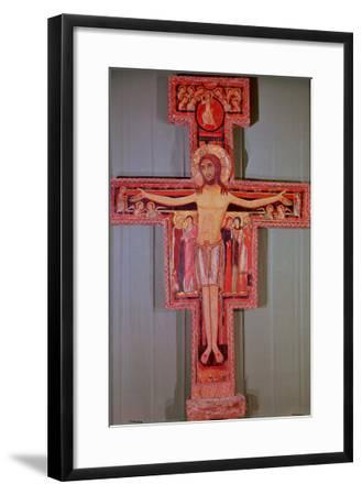 The Crucifix of St. Damian--Framed Giclee Print