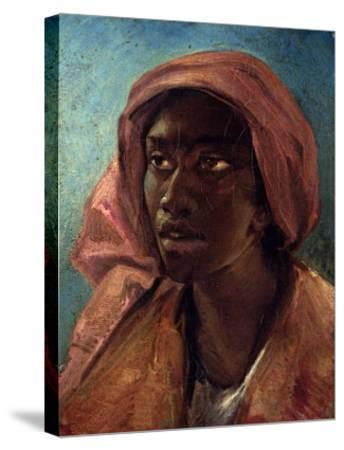 A Young Negro Woman-Th?odore G?ricault-Stretched Canvas Print