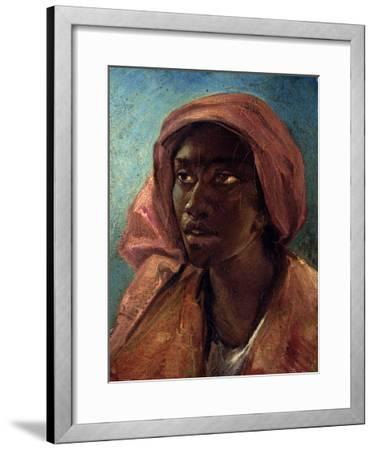 A Young Negro Woman-Th?odore G?ricault-Framed Giclee Print