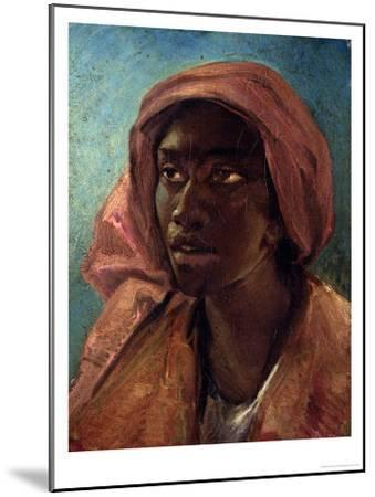 A Young Negro Woman-Th?odore G?ricault-Mounted Giclee Print