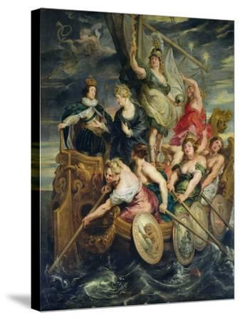 The Majority of Louis XIII 20th October 1614, 1621-25-Peter Paul Rubens-Stretched Canvas Print