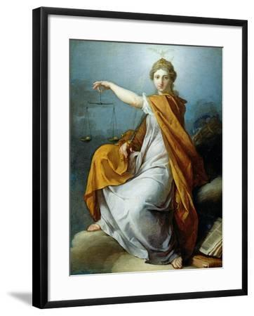 Justice-Pierre Subleyras-Framed Giclee Print