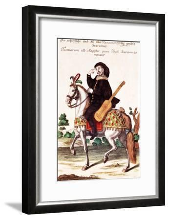 Scaramouche on Horseback--Framed Giclee Print