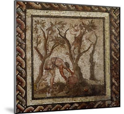 Harvesting Grapes, from Saint-Romain-En-Gal--Mounted Giclee Print