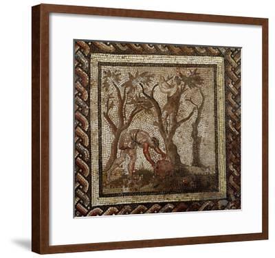 Harvesting Grapes, from Saint-Romain-En-Gal--Framed Giclee Print