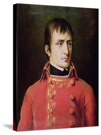 Napoleon Bonaparte 1796-Robert Lefevre-Stretched Canvas Print