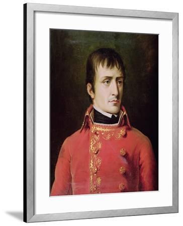 Napoleon Bonaparte 1796-Robert Lefevre-Framed Giclee Print