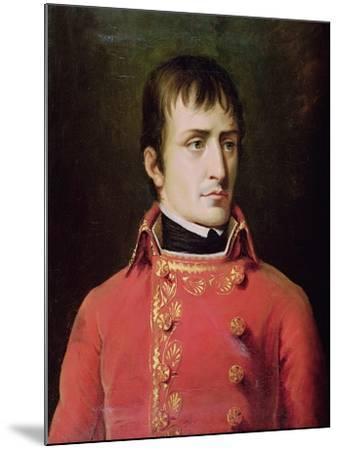 Napoleon Bonaparte 1796-Robert Lefevre-Mounted Giclee Print