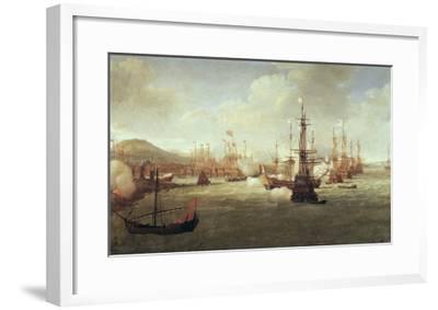Abraham Duquesne at Chios, after 1681-Jan Karel Donatus Van Beecq-Framed Giclee Print