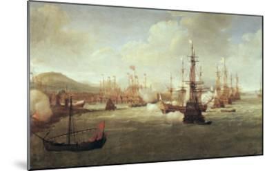 Abraham Duquesne at Chios, after 1681-Jan Karel Donatus Van Beecq-Mounted Giclee Print