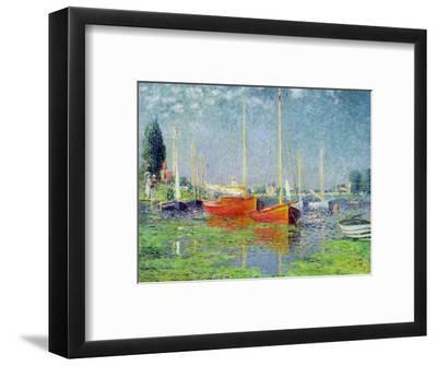 Argenteuil, circa 1872-5-Claude Monet-Framed Premium Giclee Print