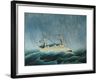 The Storm-Tossed Vessel, 1890-93-Henri Rousseau-Framed Giclee Print