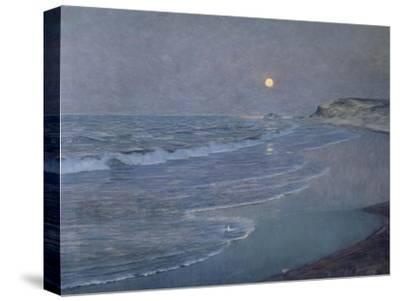 Seascape, circa 1892-93-Alexander Thomas Harrison-Stretched Canvas Print