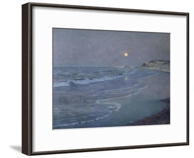 Seascape, circa 1892-93-Alexander Thomas Harrison-Framed Giclee Print