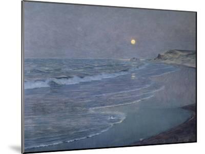 Seascape, circa 1892-93-Alexander Thomas Harrison-Mounted Giclee Print