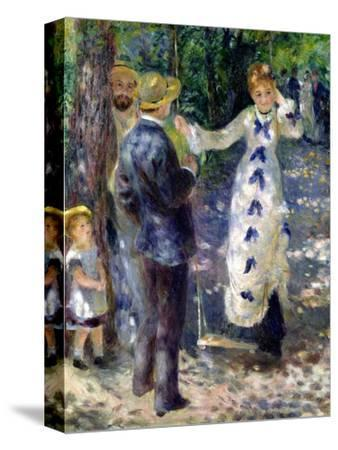 The Swing, 1876-Pierre-Auguste Renoir-Stretched Canvas Print