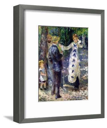 The Swing, 1876-Pierre-Auguste Renoir-Framed Premium Giclee Print