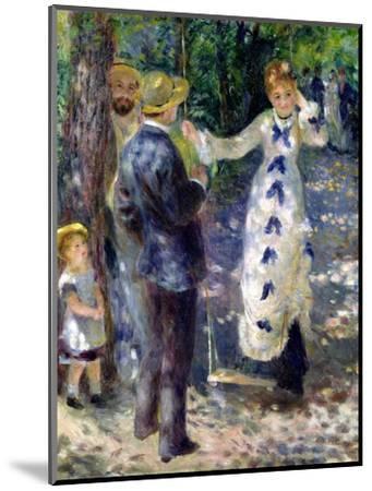 The Swing, 1876-Pierre-Auguste Renoir-Mounted Premium Giclee Print