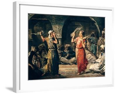 Dance of the Handkerchiefs, 1849-Theodore Chasseriau-Framed Giclee Print